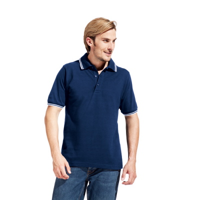 Promodoro Men's Polo Contrast Stripes 4900
