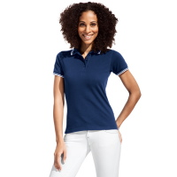 Promodoro Women's Polo Contrast Stripes 4910
